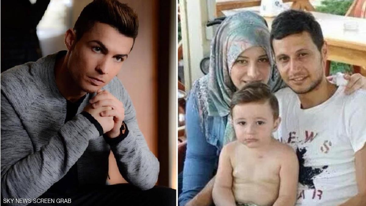 رونالدو يكمل المعروف مع الطفل السوري ضحية داعش
