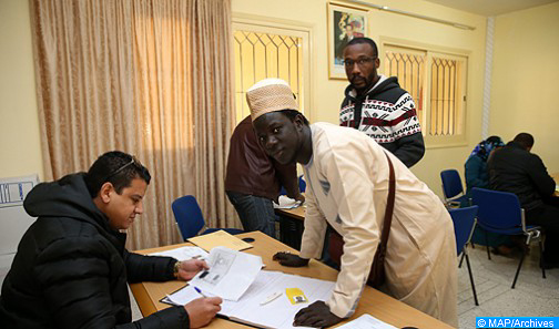 الملك يعطي تعليمات صارمة لتحسين ظروف اندماج الأجانب بالمملكة خاصة الأفارقة