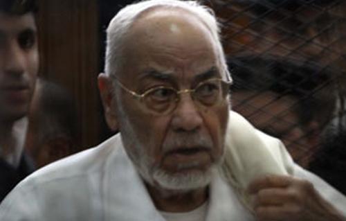 مطالبات بالإفراج عن المرشد السابق للإخوان المسلمين بمصر لدواعي صحية