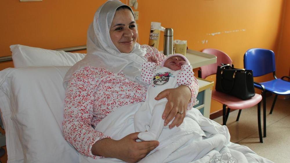 مغربية أول مولودة في إيطاليا خلال العام 2017