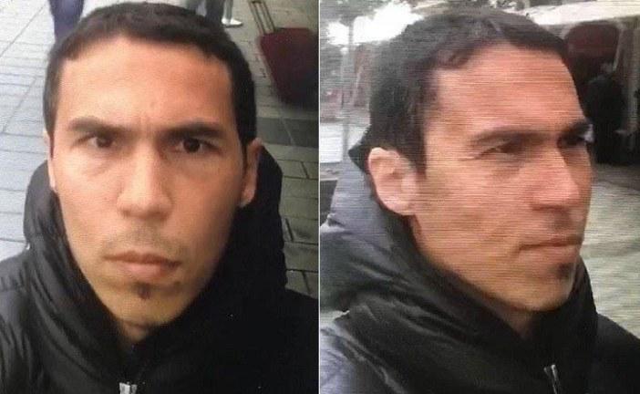 الشرطة التركية تنشر صور جديدة للمشتبه به في اعتداء اسطنبول وتعتقل 12 شخصا