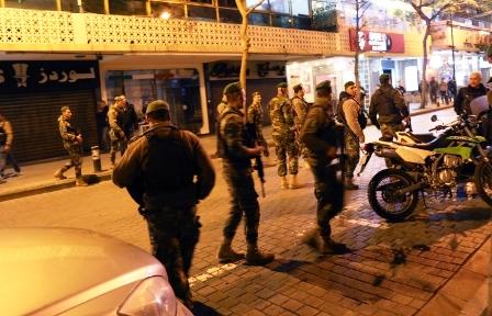 إحباط عملية انتحارية داخل احد مقاهي بيروت وتوقيف الانتحاري