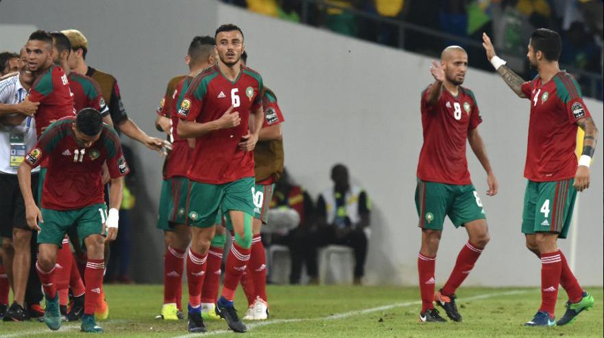 """المنتخب الوطني المغربي يرتقي أربعة مراكز في سلم تصنيف """"الفيفا"""""""