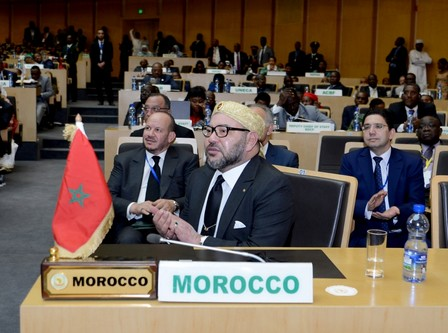 محمد السادس أصغر الزعماء الأفارقة المتواجدين في القمة الإفريقية