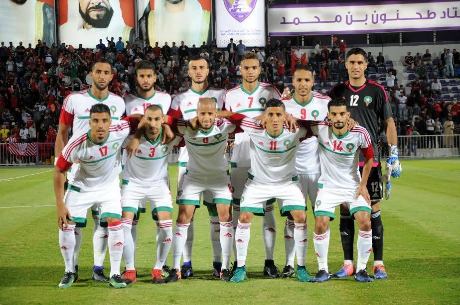 المنتخب المغربي يدخل بهذه التشكيلة لمواجهة الكونغو