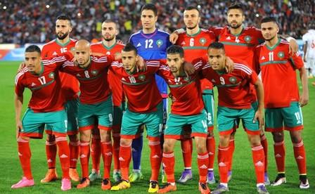 """المنتخب المغربي يحافظ على مركزه في تصنيف """"الفيفا"""" للمنتخبات"""