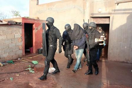اعتقال ثلاثة عناصر آخرين من الخلية الإرهابية المفككة بالجديدة