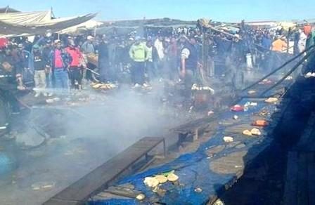 وفاة طفلة جراء حادث انفجار قنينة غاز بعين عودة