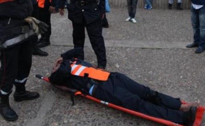 مصابون في رشق لعناصر الأمن بالحجارة من طرف محتجين ضواحي الحسيمة