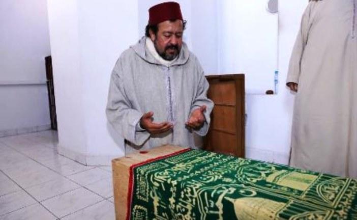 تشييع جثمان الفنان الكبير محمد حسن الجندي بمقبرة الشهداء بالرباط