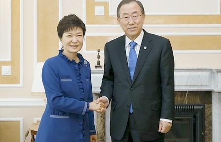 بان كي مون يعلن أنه لن يترشح لرئاسة كوريا الجنوبية