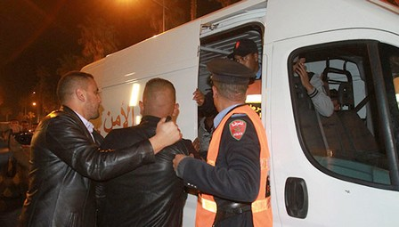 مشتبه فيه يعرض ضابط شرطة للعنف داخل مقر للشرطة ببوزنيقة