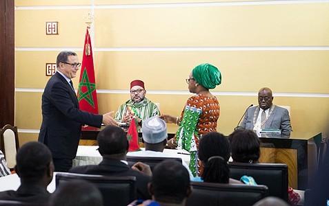 زيارة الملك لغانا تتوج ببيان مشترك يضع العلاقات بين الرباط وأكرا على سكتها الصحيحة