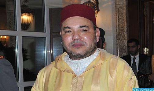 الملك يهنئ الشيخ سيرين أمباي سي منصور الخليفة العام الجديد للطريقة التيجانية بالسنغال