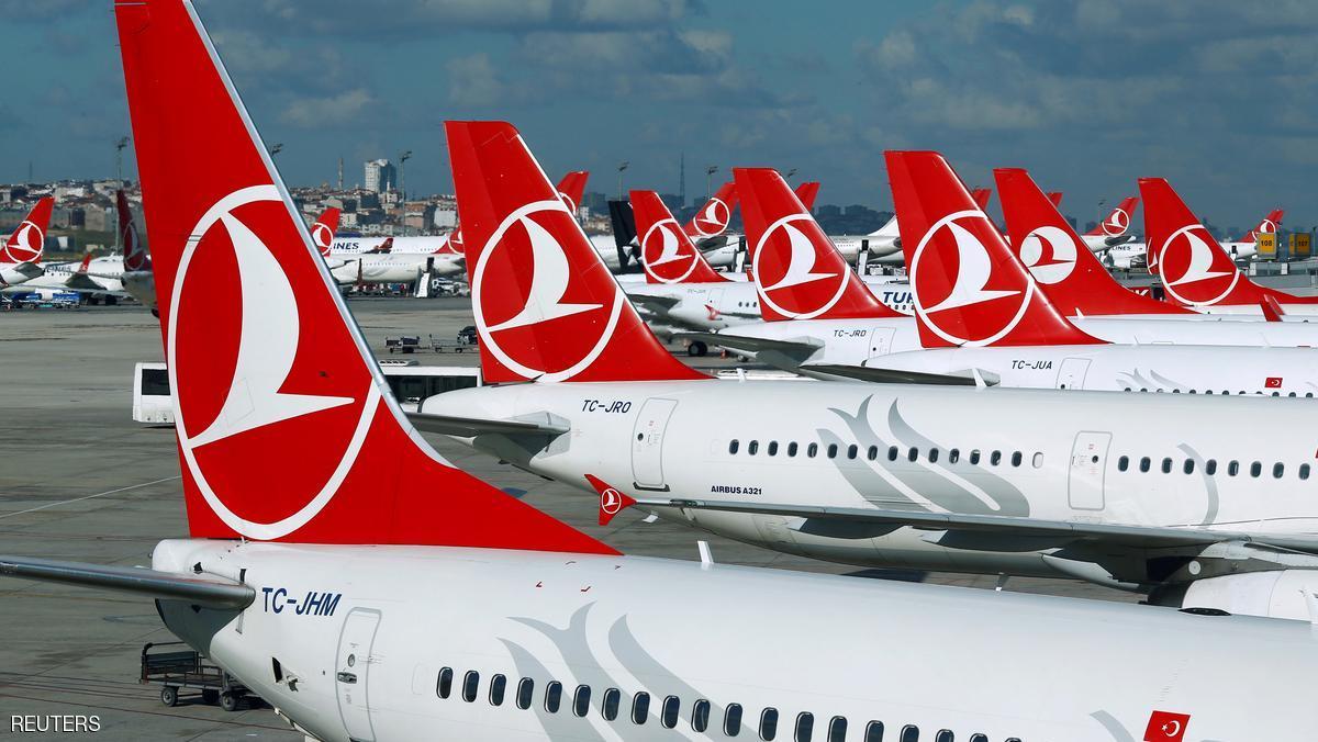 إخلاء طائرة ركاب تركية بسبب رسالة مشبوهة بمرحاض