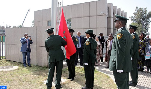 أديس أبابا… رفع العلم المغربي فوق مقر الاتحاد الإفريقي في لحظة تاريخية