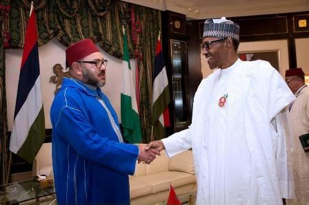 بوريطة يسلم رسالة خطية من الملك إلى رئيس نيجيريا