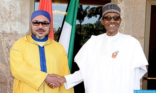 الملك يجري مباحثات هاتفية مع رئيس جمهورية نيجيريا الفدرالية