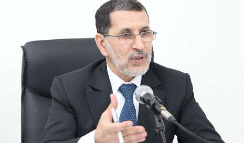 العثماني يشتكي كسل الإدارات والمؤسسات العمومية
