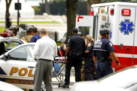 الشرطة الأمريكية تفتح النار على امرأة قرب الكونجرس