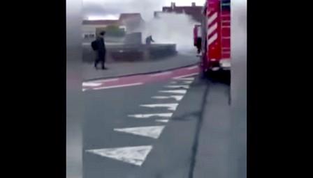 وزارة شؤون الهجرة تدخل على الخط في ملف المغربي الذي أحرق نفسه ببلجيكا