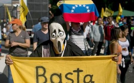 """""""باسطا"""".. صرخة الفنزويليين ضد ديكتاتورية الرئيس مادورو"""