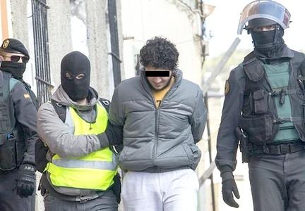 اعتقال 4 أشخاص لهم علاقة بهجمات بلجيكا الإرهابية داخل إسبانيا