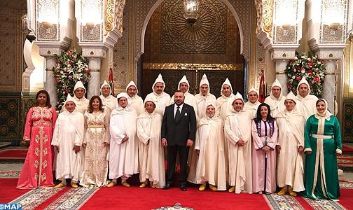 الملك يستقبل ويعين أعضاء المجلس الأعلى للسلطة القضائية