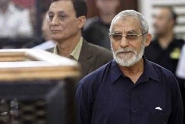 حكم بإدراج مرشد الإخوان وبعض قيادات الجماعة على قائمة الإرهاب