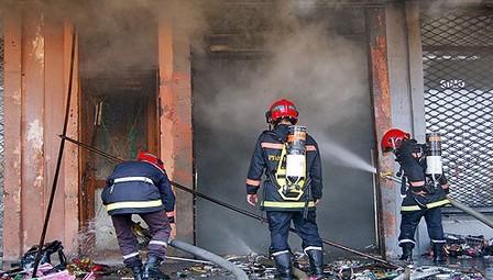 مصرع ثلاثة تلاميذ في حريق بإحدى المدارس بإقليم سيدي بنور
