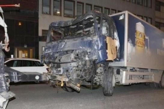 العثور على متفجرات داخل شاحنة استخدمت في هجوم ستوكهولم