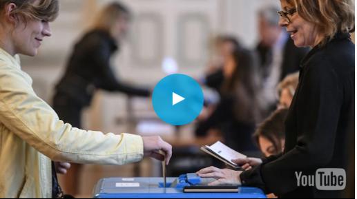 نسبة المشاركة في الانتخابات الرئاسية الفرنسية تبلغ 65,30 في المائة في الخامسة مساء