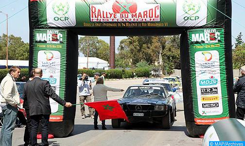 مصرع مشارك أجنبي في رالي المغرب للسيارات بخنيفرة