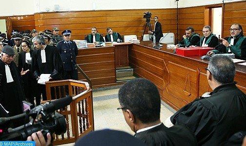 غرفة الجنايات الاستئنافية بسلا تستمع لثلاثة من شهود المتهمين المتابعين على خلفية أحداث مخيم اكديم إزيك