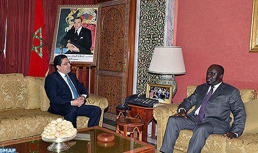 بوريطة يستقبل وزير الشؤون الخارجية الإيفواري الذي يحمل رسالة شفوية من الرئيس واتارا إلى جلالة الملك