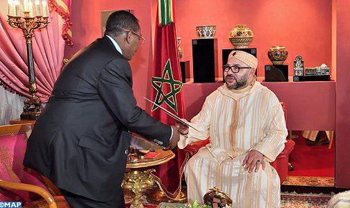 الملك يستقبل بفاس مبعوثا خاصا من رئيس جمهورية السودان
