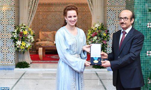 الأميرة للاسلمى تتسلم بالرباط الميدالية الذهبية لمنظمة الصحة العالمية