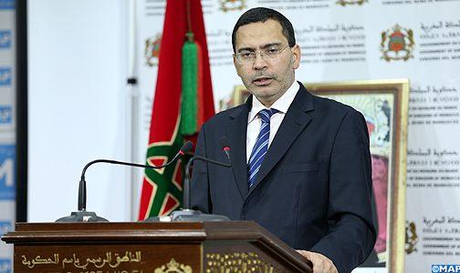 """الخلفي: """"ثروات الصحراء المغربية تستثمر في إطار القانون الدولي ومقتضيات السيادة الوطنية"""""""