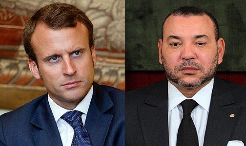 الملك يهاتف الرئيس الفرنسي ماكرون
