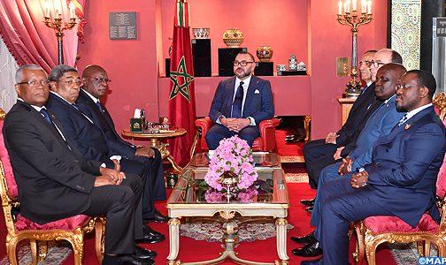 الملك يستقبل بفاس وفدا عن رؤساء الدورة ال25 للجمعية الجهوية الإفريقية التابعة للجمعية البرلمانية للفرنكفونية