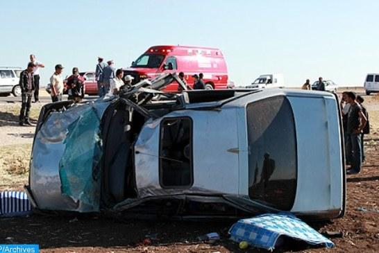 مصرع شخصين وإصابة اثنين آخرين بجروح في حادثة سير قرب كلميم