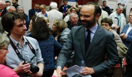 الرئيس الفرنسي ماكرون يختار المحافظ إدوارد فيليب لرئاسة الوزراء