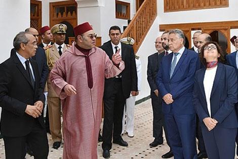 الملك يترأس حفل تقديم برنامج تأهيل المدارس العتيقة بفاس