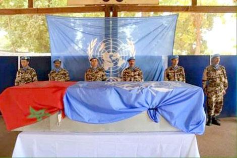 """مجلس الأمن يعرب عن """"خالص تعازيه"""" للمغرب إثر مقتل جندي في إفريقيا الوسطى"""