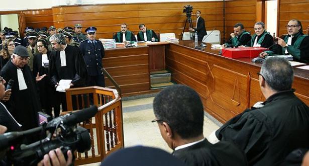 المتهمون في أحداث اكديم إزيك يعلنون انسحابهم من جلسة المحاكمة