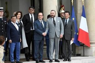 الملك محمد السادس في زيارة ذات ابعاد سياسية وثقافية الى فرنسا