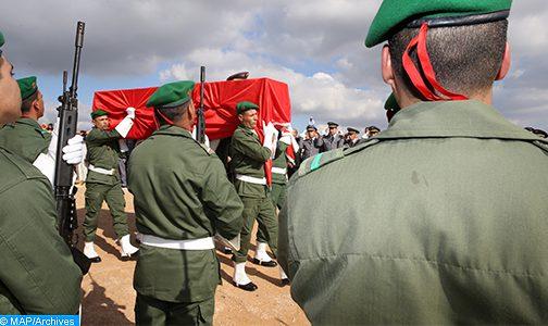 """تسليم جثمان العسكري المغربي الذي أعلن عن """"فقدانه"""" في هجوم بإفريقيا الوسطى"""