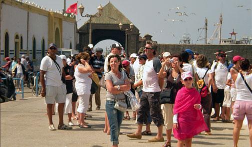 ارتفاع عدد السياح الوافدين إلى المغرب ب3,7 في المائة شهر مارس الماضي