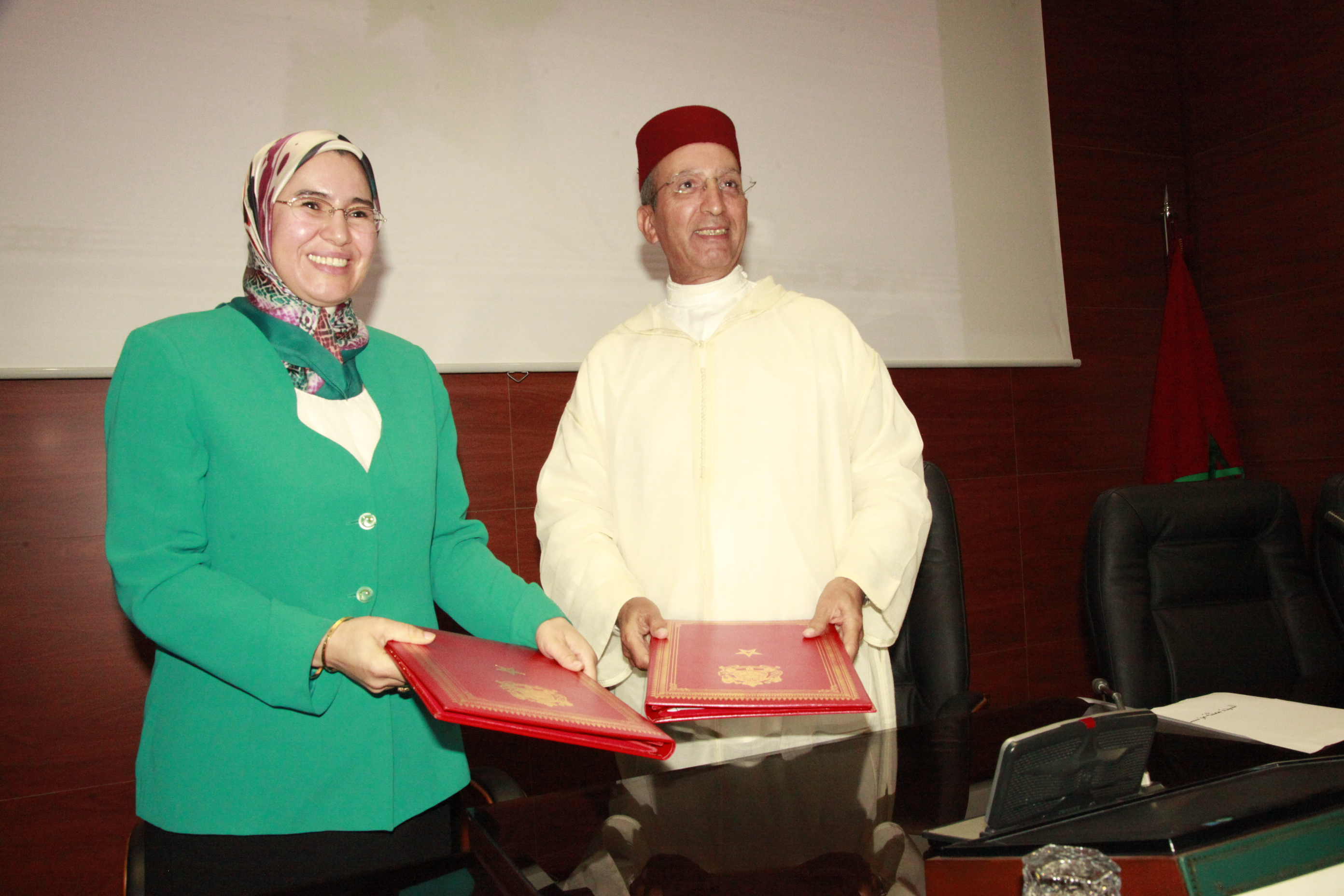 الوزيرة نزهة الوفي توقع اتفاقيات هامة تزامنا مع الاحتفاء باليوم العالمي للبيئة