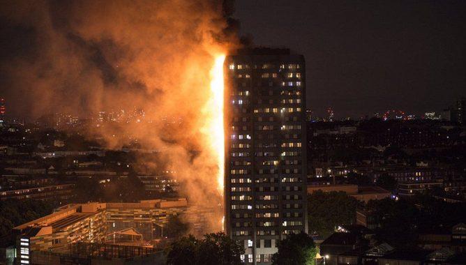 "7 مغاربة ضمن ضحايا حريق برج ""غريفيل"" بلندن"